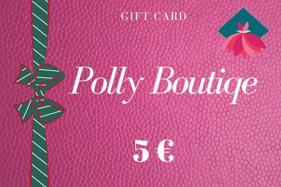 Carta regalo – Buono regalo da 5 euro