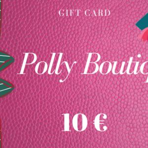 Carta regalo – Buono regalo da 10 euro