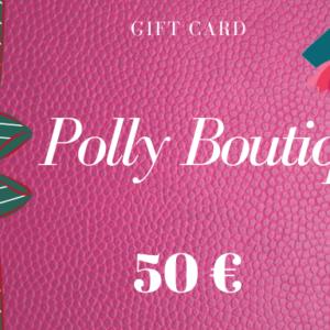 Carta regalo – Buono regalo da 50 euro