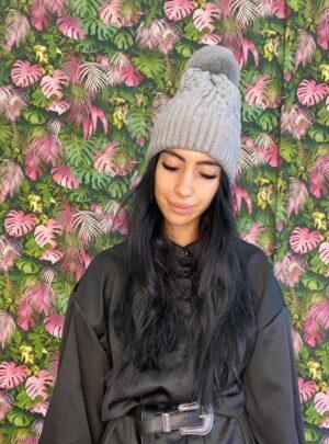 Cappello Polly grigio