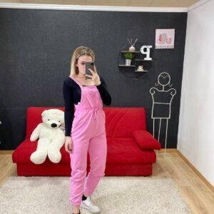 Salopette Pit Stop Lara 2.0 rosa barbie