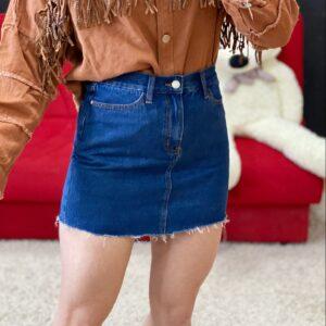 Mini gonna di jeans