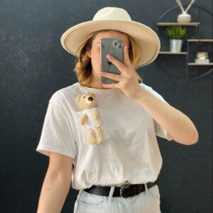 T-Shirt Noel white