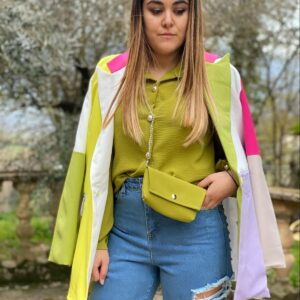Giacca spritz gialla lilla Lara
