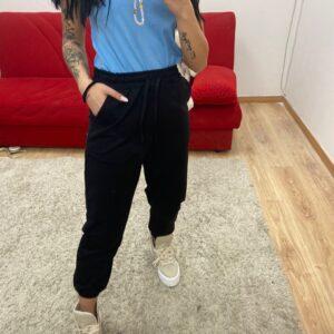 Pantalone di tuta nero