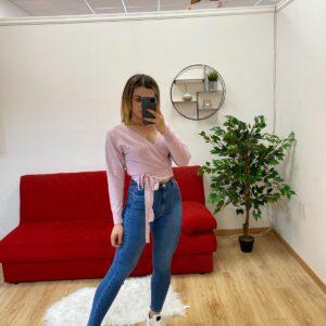 Jeans a vita altissima