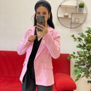 Giacca summer rosa barbie