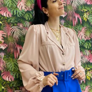 Camicia esmeralda cipria