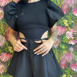 Short a farfalla black