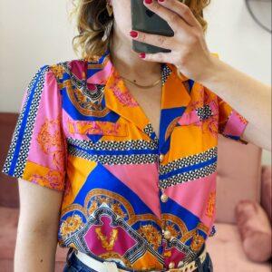 Camicia esmeralda paranoica mezza manica