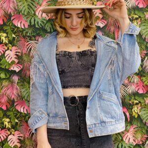 Giubetto di jeans super bello