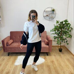 Tris di tuta (T-shirt+legghins+felpa)
