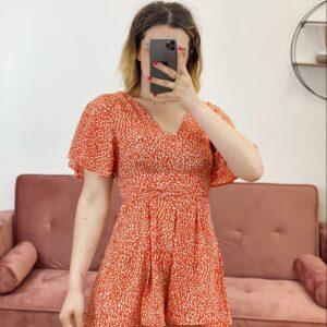 Tutina summer arancio