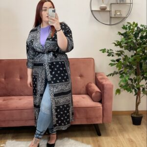 Kimono bandana nero