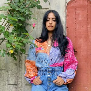 Camicia Esmeralda bandana