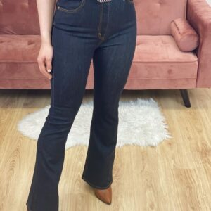 Jeans a zampa silhouette