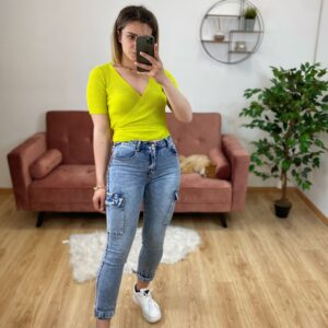 Jeans con tasche