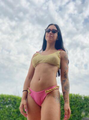Bikini Eleonora Rosa e Giallo