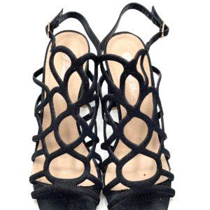 Sandalo black in lurex