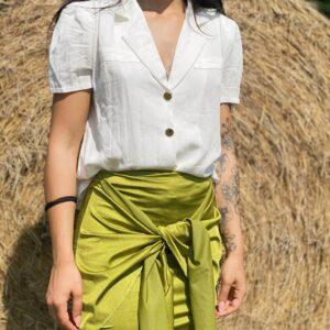 Camicia esmeralda white