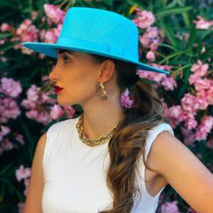 Cappello celeste