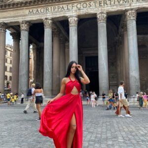 Abito Pantheon Rosso