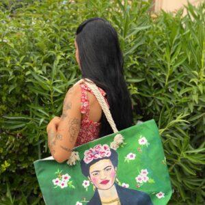 Borsa mare Frida in vari colori