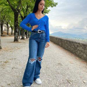 Maglioncino blu