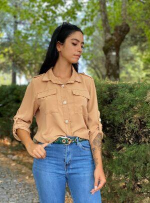 Camicia Tara beige