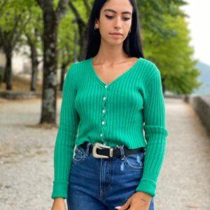 Maglioncino verde