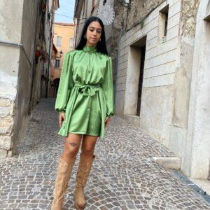 Abito Marzia verde