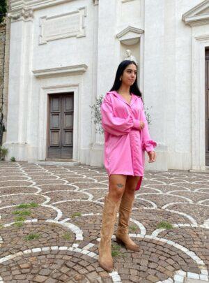 Camicione Vogue rosa barbie