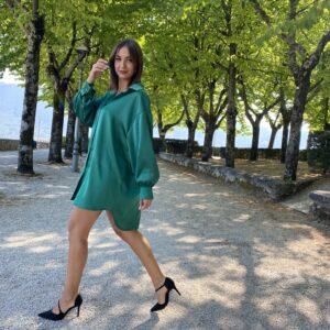 Camicione Vogue verde