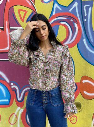Camicia Catia con fiorellini