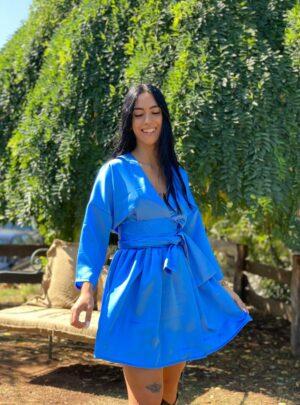 Abito Gaia Bluette