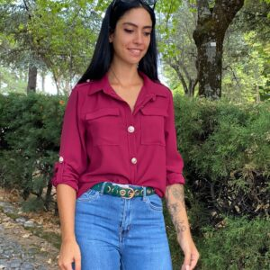 Camicia Lara rossa