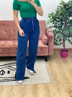 Jeans con spacchetti
