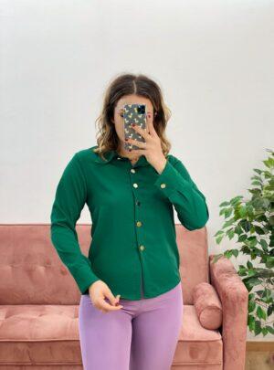 Camicia Esmeralda verde