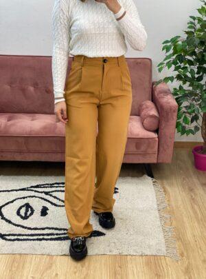 Pantalone a palazzo senape