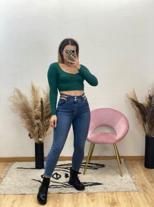 Jeans taglietti
