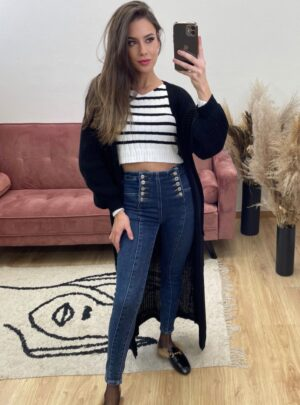 Jeans doppi bottoni